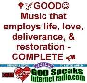 GOD Speaks Internet Radio - :-) Come Worship Jesus with us! :-)